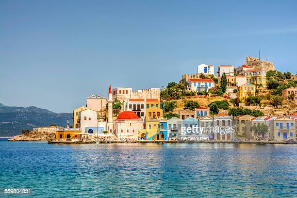 kastellorizo (megisti,meis), greece - islamabad stock pictures, royalty-free photos & images