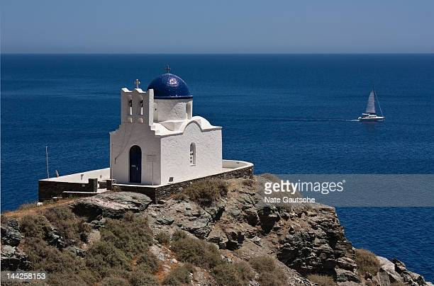 kastro - rhodes dodecanese islands stock photos and pictures