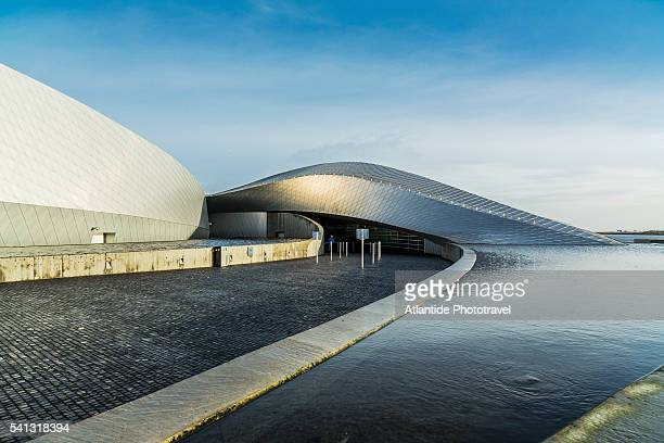Kastrup, Den Blå Planet (National Aquarium Denmark), the exterior (3XN Architects)