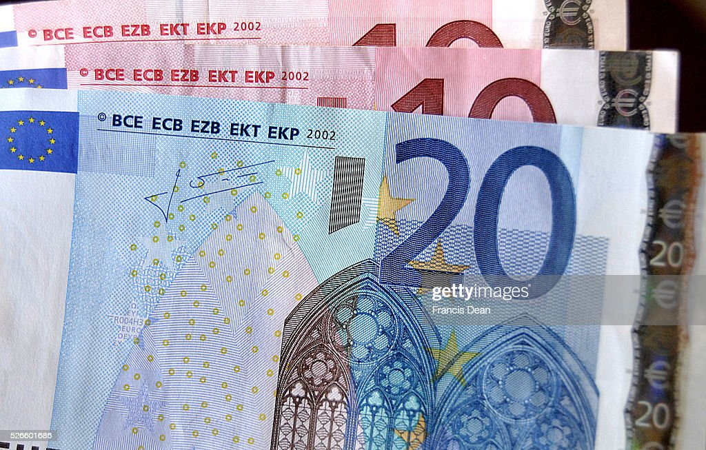 News images from Denmark_Euro notes : News Photo