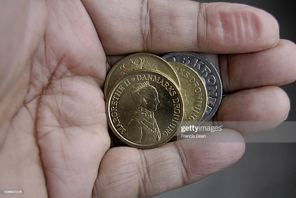 Danish economy and coins : News Photo