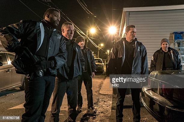 D Kasual with A K Episode 318 Pictured LaRoyce Hawkins as Kevin Atwater Jason Beghe as Hank Voight Elias Koteas as Alvin Olinksy Jesse Lee Soffer as...