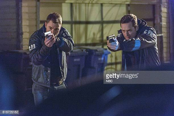 D 'Kasual with A K' Episode 318 Pictured Patrick John Flueger as Adam Ruzek Jesse Lee Soffer as Jay Halstead