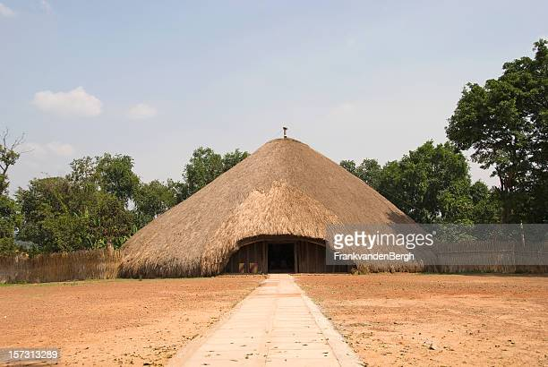 kasubi tombs - tomb stock pictures, royalty-free photos & images