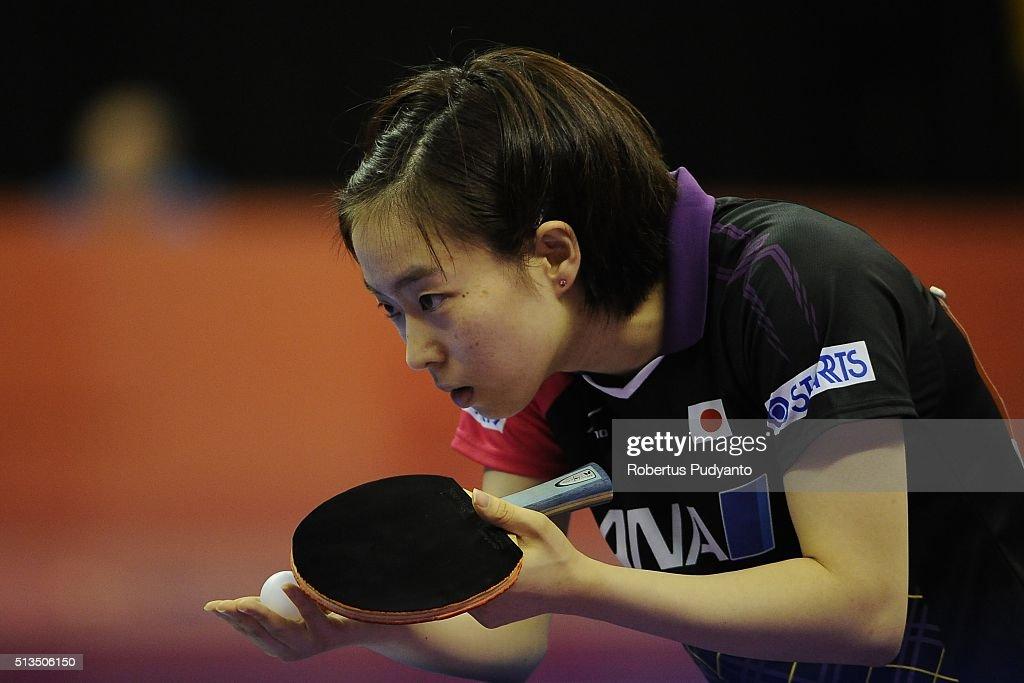 2016 World Team Table Tennis Championship : News Photo