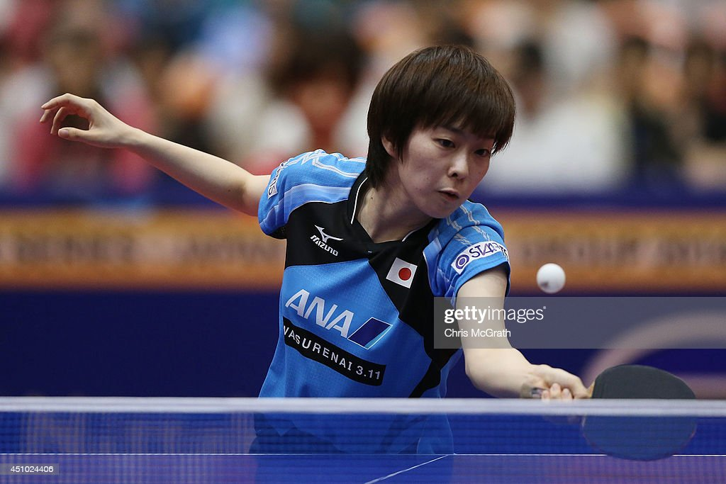 Table Tennis World Tour Japan Open In Yokohama - Day 3 : News Photo