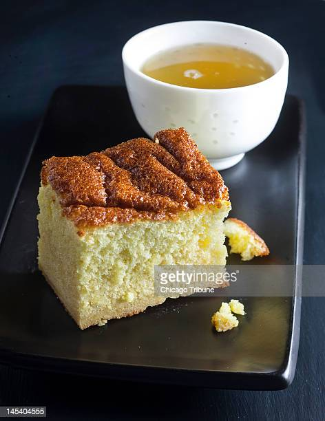 Kasutera also called castella is a popular Japanese sponge cake that has Portuguese roots
