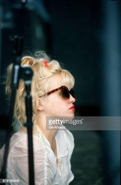 Kat Bjelland Babes in Toyland performing on stage Pukkelpop Festival Hasselt Belgium 29th August 1992
