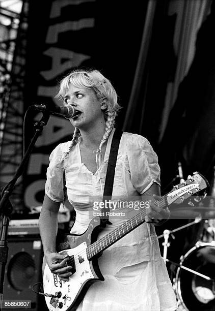 UNITED STATES JANUARY 01 Kat Bjelland from Babes in Toyland performing live on stage in 1993