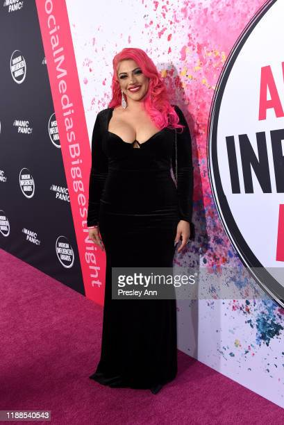 Kat Castanon attends the 2nd Annual American Influencer Awards at Dolby Theatre on November 18, 2019 in Hollywood, California.