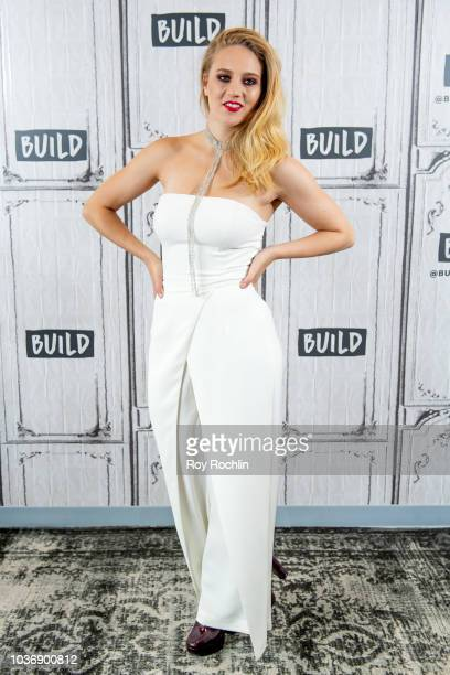 Kat Cunning discusses 'The Deuce' and performs a song during the Build Series at Build Studio on September 20 2018 in New York City