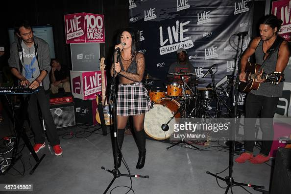 Kat Dahlia performs during the Miami 100 Days of Music