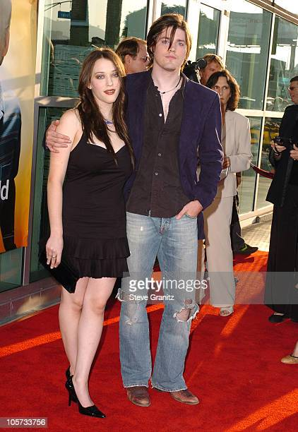 "Kat Dennings and Ira Wood during ""The 40-Year-Old Virgin"" Los Angeles Premiere - Arrivals at ArcLight Theatre in Hollywood, California, United States."