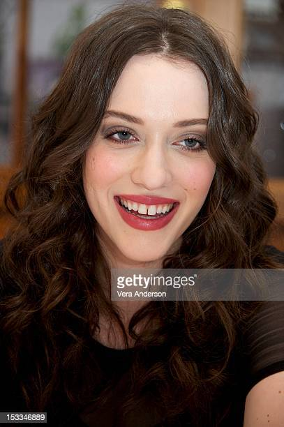 Kat Dennings at the '2 Broke Girls' Press Conference on October 3 2012 in West Hollywood California