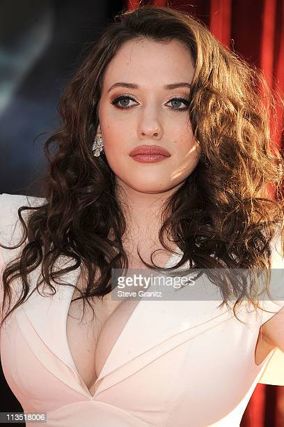 Kat Dennings attends the Thor Los Angeles Premiere at the El Capitan Theatre on May 2 2011 in Hollywood California