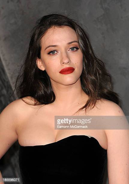 Kat Dennings attends the World Premiere of Thor The Dark World at Odeon Leicester Square on October 22 2013 in London England
