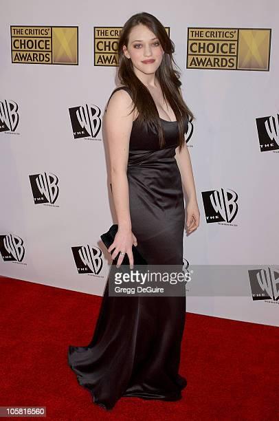 Kat Dennings during 11th Annual Critics' Choice Awards - Arrivals at Santa Monica Civic Auditorium in Santa Monica, California, United States.