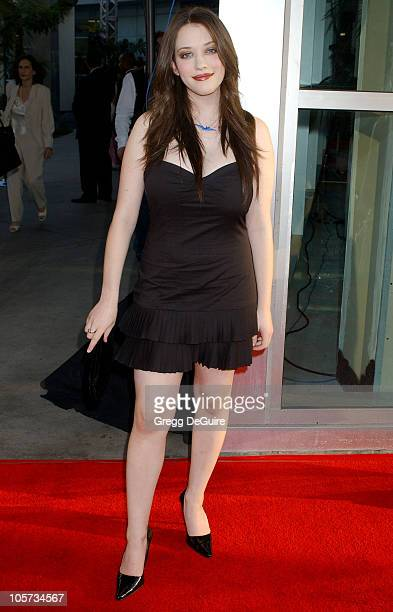 Kat Dennings during 'The 40YearOld Virgin' Los Angeles Premiere Arrivals at ArcLight Theatre in Hollywood California United States