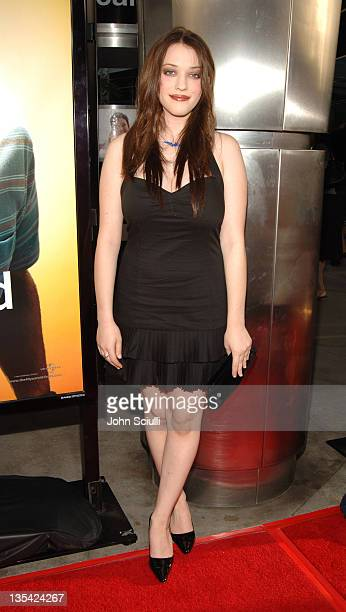 Kat Dennings during The 40YearOld Virgin Los Angeles Premiere Red Carpet at Arclight Hollywood in Los Angeles California United States