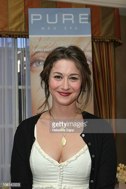 Kat Foster at Pure Med Spa during The 2007 Luxury Lounge Presents Marie Claire Fashion Closet Day 2 at Four Seasons in Beverly Hills California...