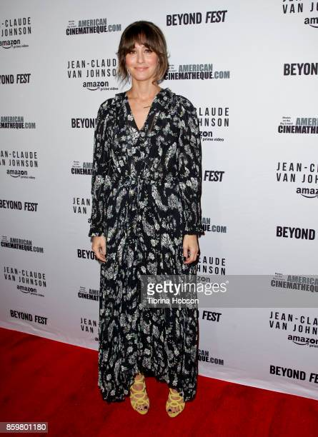 Kat Foster attends Beyond Fest's screening of Amazon's 'JeanClaude Van Johnson' at The Egyptian Theatre on October 9 2017 in Los Angeles California