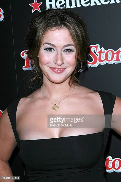Kat Foster attends Rolling Stone Magazine's Hot List Party 2007 at Crimson on October 4 2007 in Hollywood CA