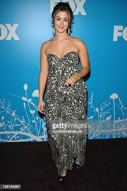 Kat Foster during 2007 FOX UpFront Arrivals at Wollman Rink in Central Park in New York City New York United States