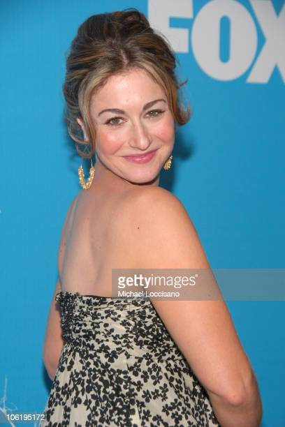 Kat Foster during The 2007/2008 Fox Upfronts Arrivals at Wollman Rink Central Park in New York City New York United States