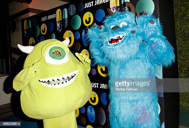 Kat Graham and a freind attend the Just Jared Halloween Party at No Vacancy on October 31 2015 in Los Angeles California