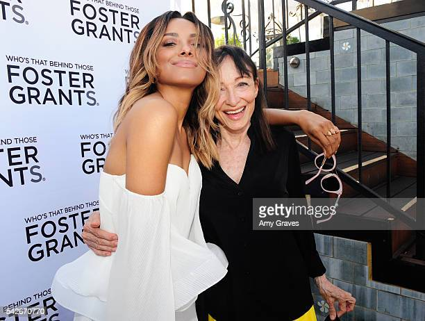Kat Graham and mother Natasha Graham attend the Foster Grant And Kat Graham Summer Soiree on June 23 2016 in Los Angeles California