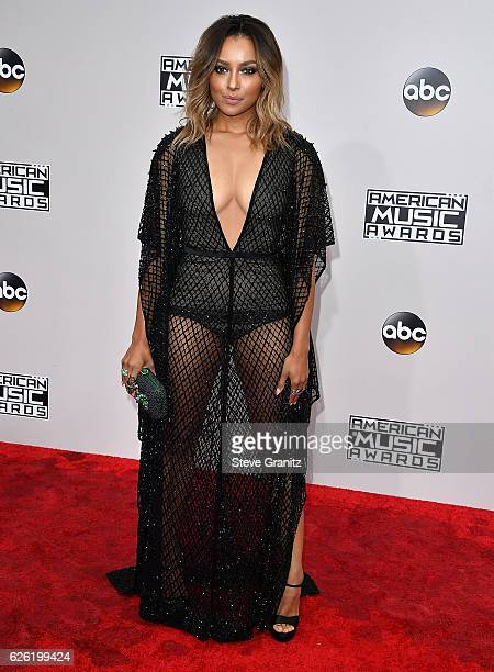 Kat Graham arrives at the 2016 American Music Awards at Microsoft Theater on November 20 2016 in Los Angeles California