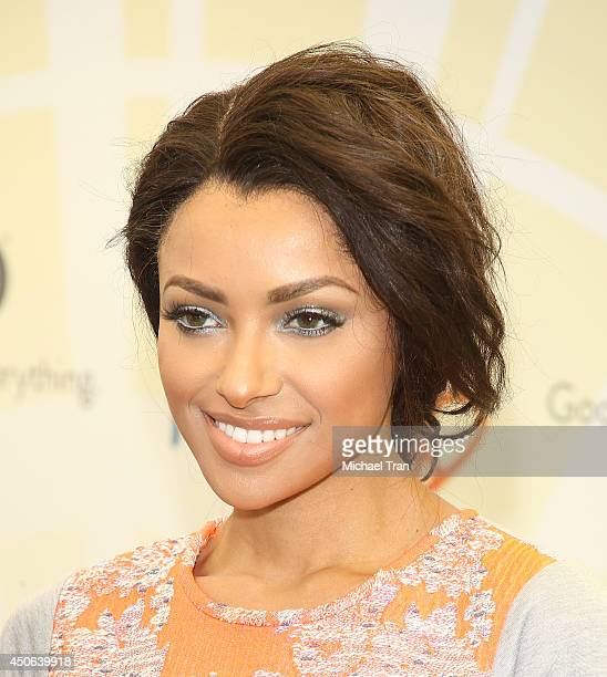 Kat Graham arrives at the Children Mending Hearts's 6th Annual Fundraiser Empathy Rocks A Spring Into Summer Bash held at a private residence on June...