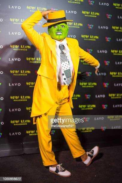 Kat Graham attends Heidi Klum's 19th Annual Halloween party at Lavo on October 31 2018 in New York City