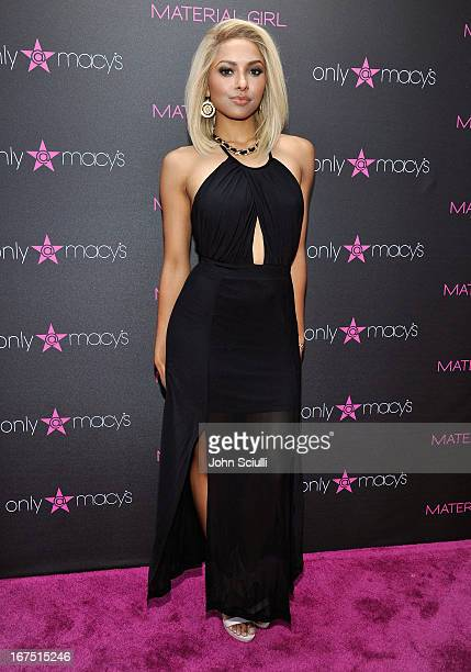 Kat Graham attends Madonna's Fashion Evolution PopUp Exhibit hosted by Material Girl at Macy's Westfield Century City on April 25 2013 in Century...