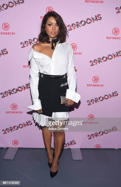 Kat Graham attends Refinery29 29Rooms Los Angeles Turn It Into Art at ROW DTLA on December 6 2017 in Los Angeles California
