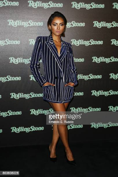 Kat Graham attends Rolling Stone party during Milan Fashion Week Spring/Summer 2018 at on September 24 2017 in Milan Italy