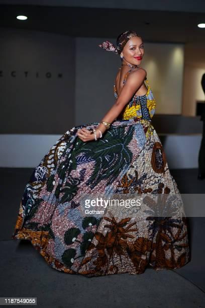 Kat Graham attends the 2019 Guggenheim International Gala on November 13 2019 in New York City