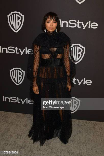 Kat Graham attends the 2019 InStyle and Warner Bros 76th Annual Golden Globe Awards PostParty at The Beverly Hilton Hotel on January 6 2019 in...