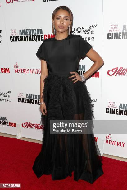Kat Graham attends the 31st Annual American Cinematheque Awards Gala at The Beverly Hilton Hotel on November 10 2017 in Beverly Hills California