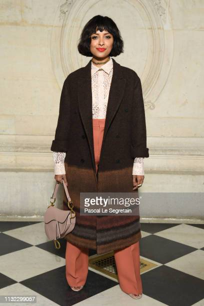 Kat Graham attends the Christian Dior show as part of the Paris Fashion Week Womenswear Fall/Winter 2019/2020 on February 26 2019 in Paris France