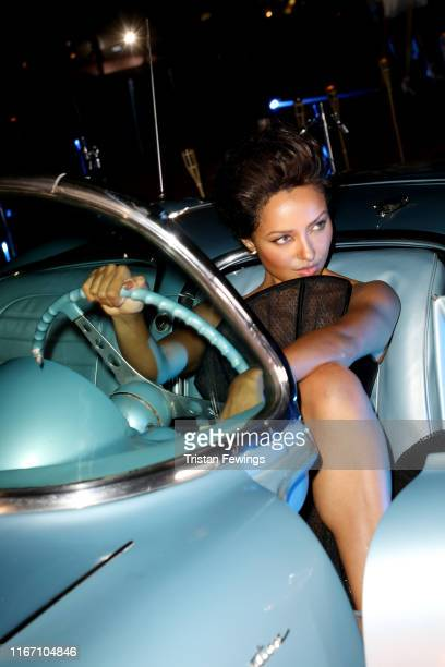 Kat Graham attends the cocktail at the Unicef Summer Gala Presented by Luisaviaroma at on August 09 2019 in Porto Cervo Italy