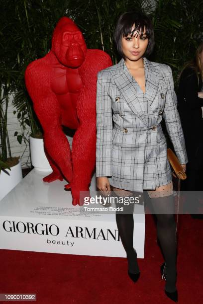 Kat Graham attends the Giorgio Armani Beauty at Best Performances held at Chateau Marmont on January 04 2019 in Los Angeles California