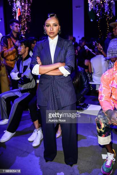 Kat Graham attends the Prabal Gurung S/S 20 Fashion Show at Gallery I at Spring Studios on September 8 2019 in New York City