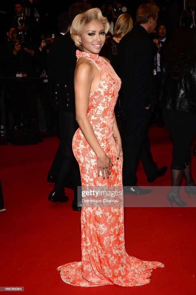 Kat Graham attends the Premiere of 'Only God Forgives' at The 66th Annual Cannes Film Festival on May 22, 2013 in Cannes, France.