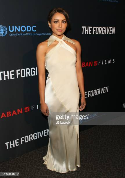 Kat Graham attends the premiere Of Saban Films' 'The Forgiven' held at Directors Guild Of America on March 7 2018 in Los Angeles California