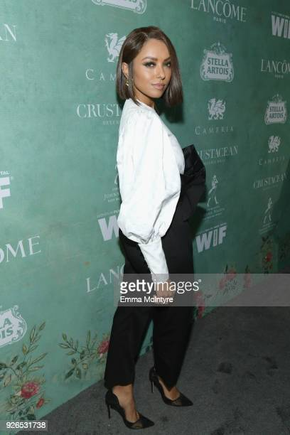 Kat Graham attends Women In Film Pre-Oscar Cocktail Party presented by Max Mara and Lancome with additional support from Crustacean Beverly Hills,...