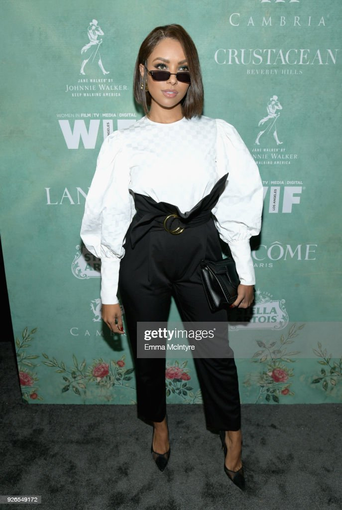11th Annual Women In Film Pre-Oscar Cocktail Party presented by Max Mara and Lancome with additional support from Crustacean Beverly Hills, Johnnie Walker, Stella Artois and Cambria : News Photo