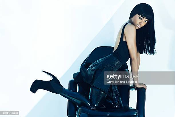 Kat Graham is photographed for Fault Magazine on August 2 2012 in Los Angeles California PUBLISHED IMAGE