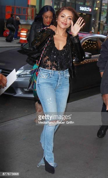 Kat Graham is seen on November 22 2017 in New York City