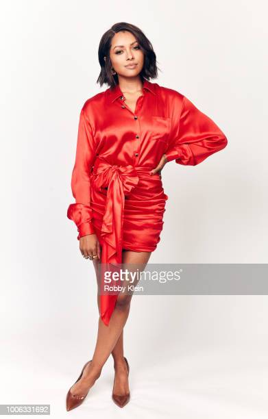 Kat Graham of Nickelodeon's 'Rise of the Teenage Mutant Ninja Turtles' poses for a portrait during the 2018 Summer Television Critics Association...